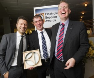 Electrolux Supplier Awards 2013 winners